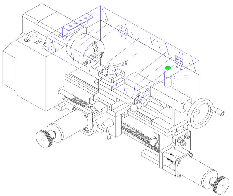 Mini lathe cnc conversion plans welcome to for Convert image to blueprint online